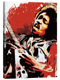 Canvas print  Jimi Hendrix - 2ToastDesign