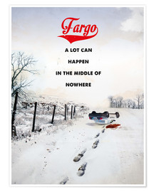 Premium poster  Fargo (English) - 2ToastDesign