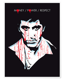 Poster alternative scarface tony montana movie poster