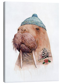 Canvas print  Tattooed Walrus - Animal Crew