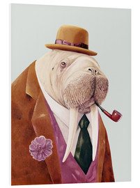 Foam board print  Mr Walrus - Animal Crew