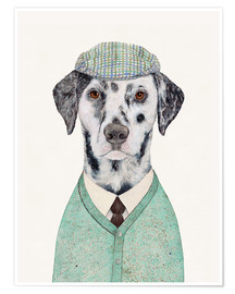 Premium poster  Sophisticated dalmatian - Animal Crew