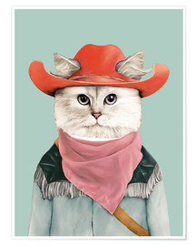 Poster Rodeo Cat