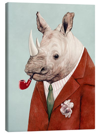 Canvas print  Rhino - Animal Crew
