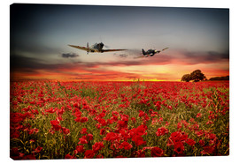 Canvas print  Battle of Britain warriors - airpowerart