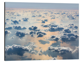 Aluminium print  Above the clouds