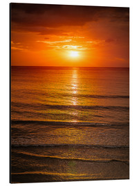 Aluminium print  Sunrise in the sea