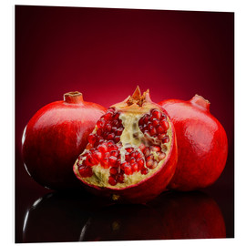 Forex  red pomegranate fruits