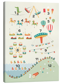 Canvas print  Learn to Count - Sandy Lohß
