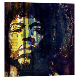 Acrylic print  Jimmy Hendrix - Paul Lovering