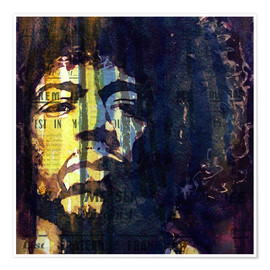 Premium poster  Jimmy Hendrix - Paul Lovering