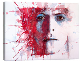 Canvas print  The prettiest star : David Bowie - Paul Lovering