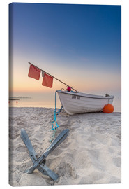 Canvas print  Kellenhusen fishing boat Baltic Sea Anchor - Dennis Stracke