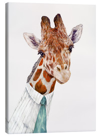 Canvas print  Giraffe - Animal Crew