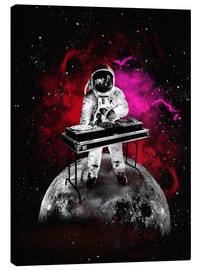 Canvas print  Space Astronaut DJ - 2ToastDesign
