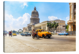 Reemt Peters-Hein - Havana Capitol with Oldtimer