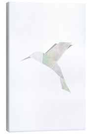 Canvas  Origami hummingbird - Amy and Kurt Berlin