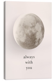 Canvas print  Always with you - Amy and Kurt