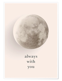 Premium poster  Always with you - Amy and Kurt