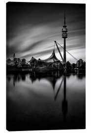 Canvas print  munich olympic park - MUXPIX