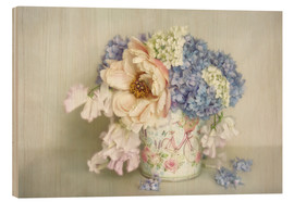 Wood print  scent of summer - Lizzy Pe