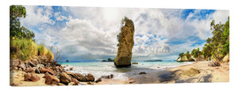 Canvas print  Dream beach - Cathedral Cove Beach - New Zealand - Michael Rucker