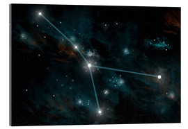 Acrylic print  An artist's depiction of the constellation Cancer. - Marc Ward