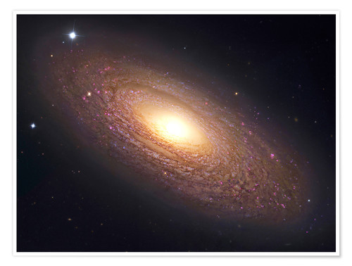 NGC 2841, spiral galaxy in Ursa Major. Posters and Prints ...