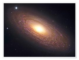 Premium poster NGC 2841, spiral galaxy in Ursa Major.