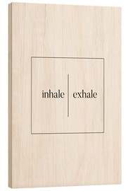 Wood  Inhale | Exhale - Stephanie Wünsche