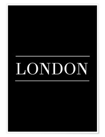 Poster LONDON | HORIZONTAL