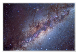 Premium poster The center of the Milky Way through Sagittarius and Scorpius.