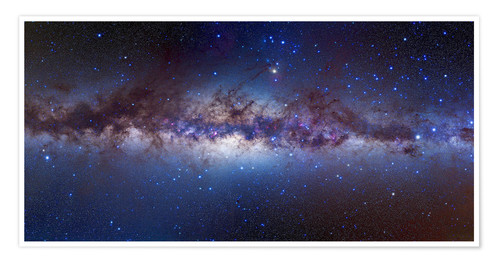 Premium poster Centre of the Milky Way