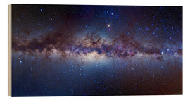 Wood print  Centre of the Milky Way - Alan Dyer