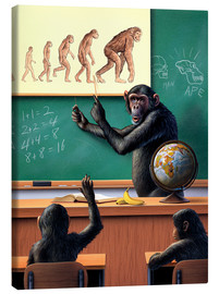 Canvas print  Evolution - Jerry LoFaro