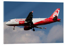 Acrylic glass  Airbus A320 of Air Berlin - Luca Nicolotti