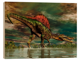 Wood  Spinosaurus from the Cretaceous period - Philip Brownlow