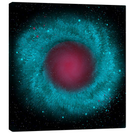 Canvas print  Artist's concept of the Helix Nebula. - Corey Ford
