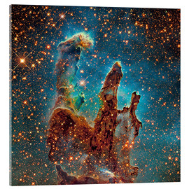 Acrylic glass  Eagle Nebula - Robert Gendler