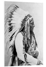 Foam board print  Sioux Chief - Sitting Bull - John Parrot