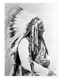 Premium poster Sioux Chief - Sitting Bull