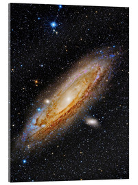 Acrylic print  Messier 31, the Andromeda Galaxy. - Roberto Colombari
