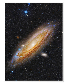 Premium poster  Messier 31, the Andromeda Galaxy. - Roberto Colombari