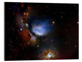 Acrylic print  Messier 78, a reflection nebula in the constellation Orion. - Roberto Colombari