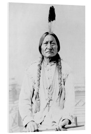 Foam board print  Sioux Chief, Sitting Bull