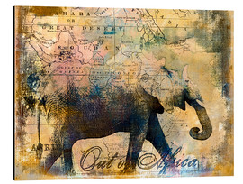 Alu-Dibond  Out of Africa - Andrea Haase