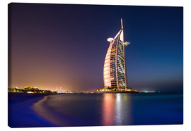 Canvas print  Dubai burj al arab beach - Vincent Xeridat