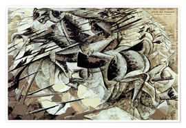 Premium poster The Charge of the Lancers