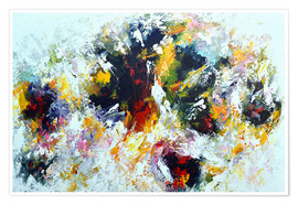 Premium poster Colorful abstract