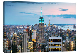 Canvas print  Empire State Building - Matteo Colombo